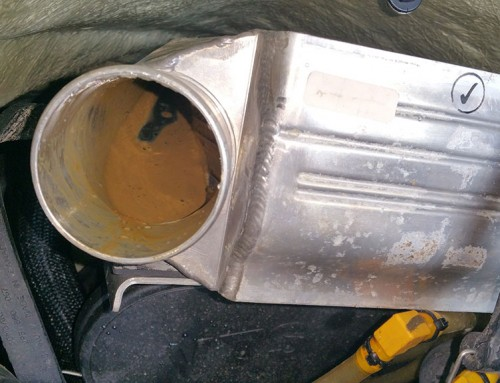 Seadoo 4 tec intercooler full of oil and water.