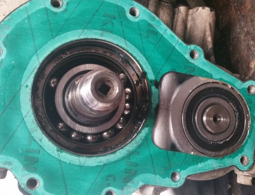 SeaDoo Crankshaft Bearing Failure.