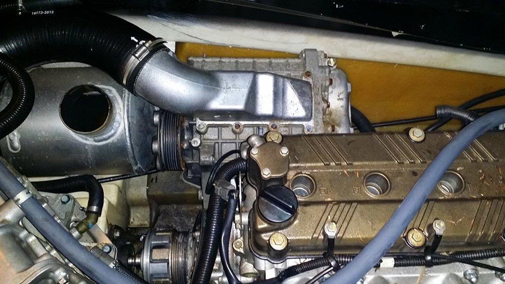 Kawasaki Ultra X Supercharger Belt